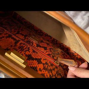 Fendi Bags - Fendi peekaboo interior python leather large